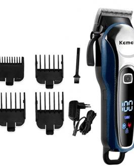 Kemei mens clipper cordless Hair Clippers, Razor Electric Professional Shaver Beard Trimmer Grooming Shaving Machine Self Hair Cutting Haircut Trimmers Cutter